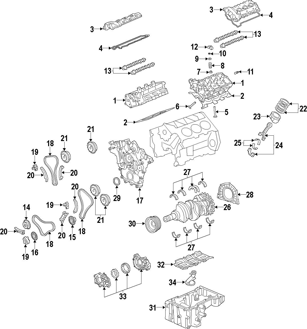 Chevrolet Equinox Engine Oil Pan