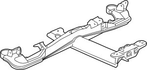 2004 Buick Crossmember SUSPENSION Subframe Support Bar Rear All Models  25731513   GM