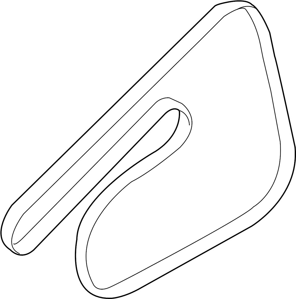 Chevrolet Aveo Serpentine Belt
