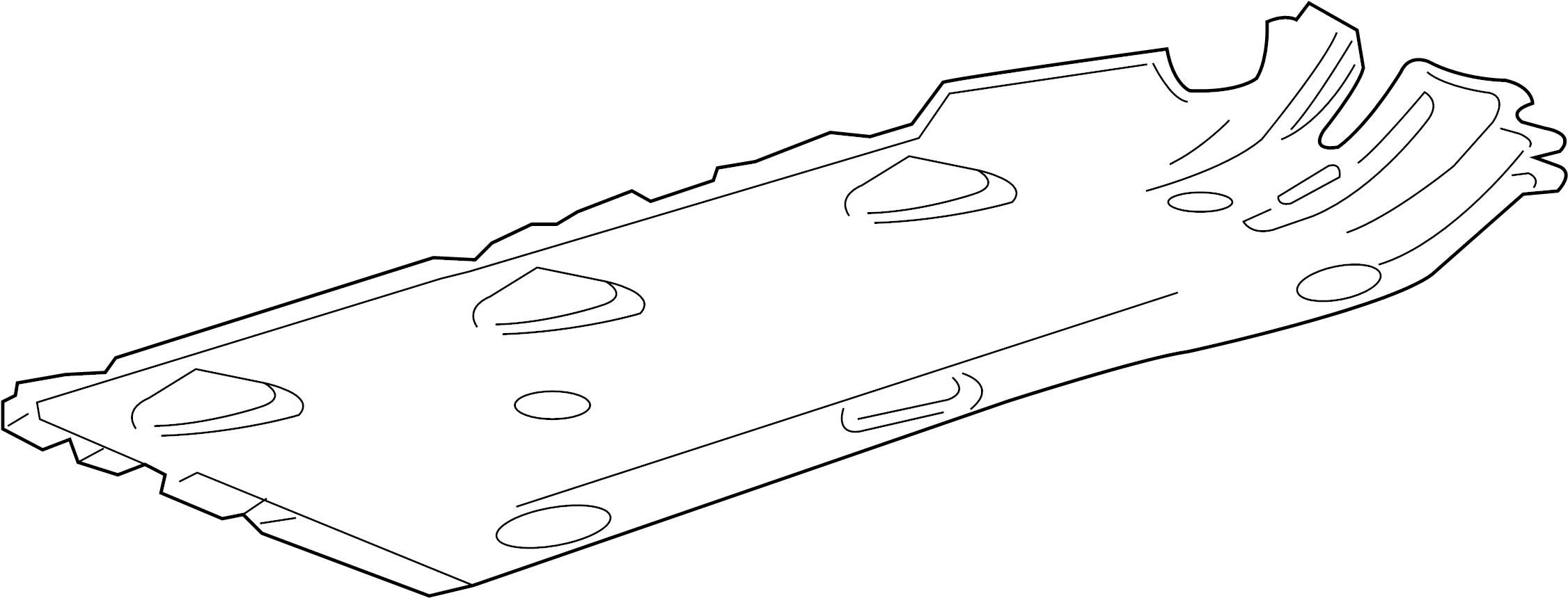 Chevrolet Impala Shield Front Left Floor Deflector