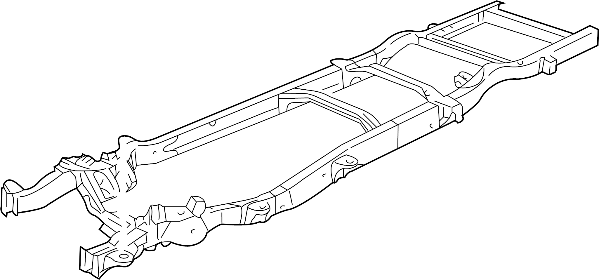 Gmc Savana Frame Rail All Long Wheelbase W O