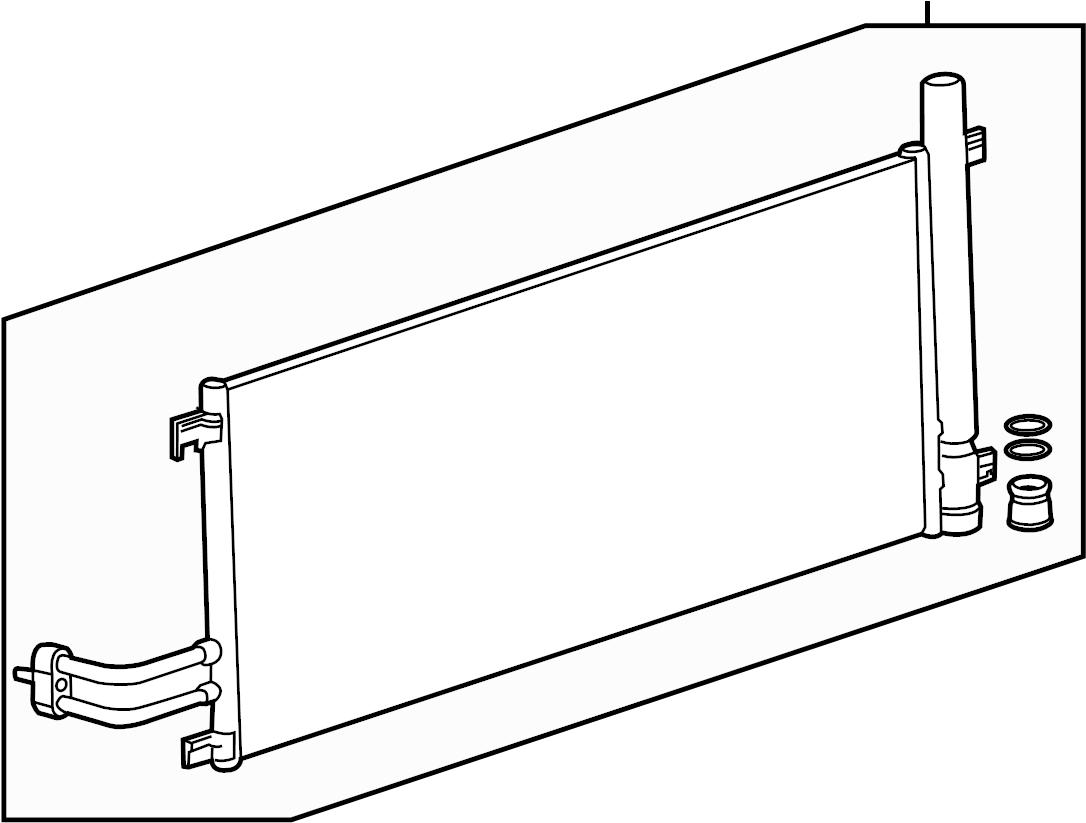 Gmc Sierra A C Condenser