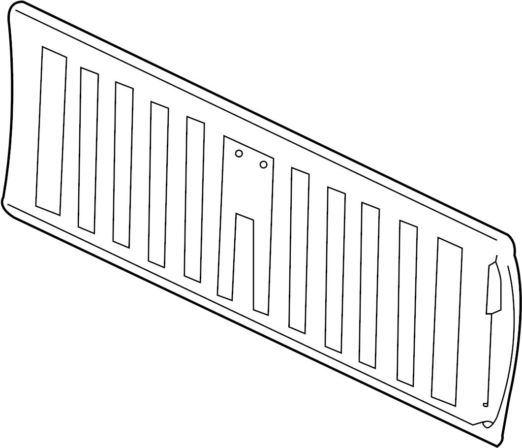 Gmc Sierra Tail Gate Tailgate Rear Chevrolet