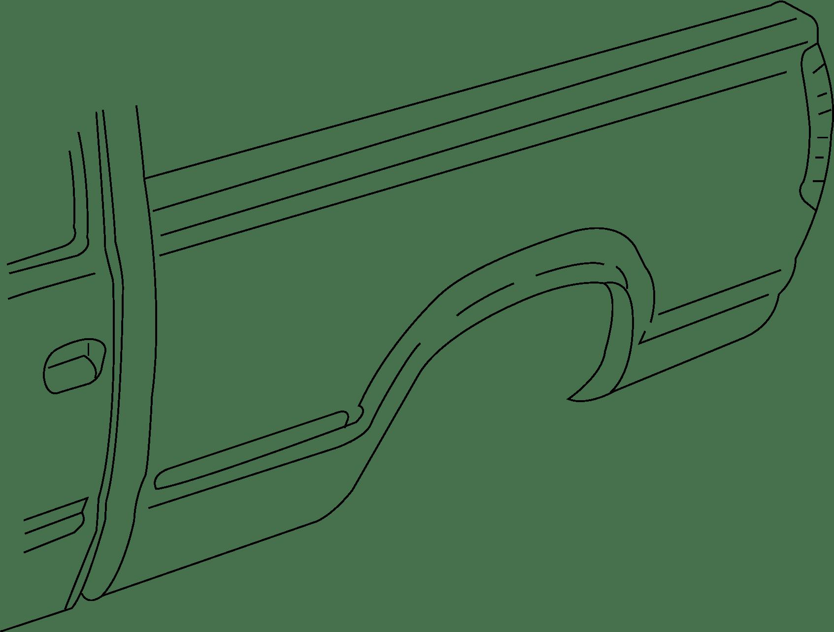 Gmc Sierra Pickup Box Decal Panel Side
