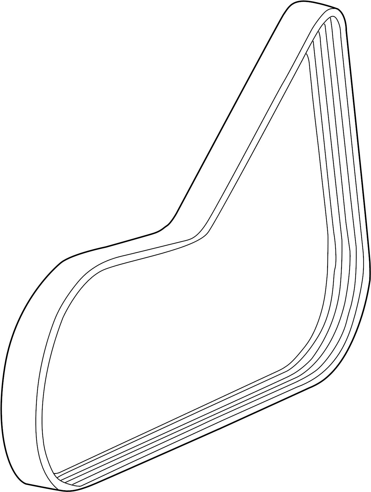 Chevrolet Ac Belt Belt