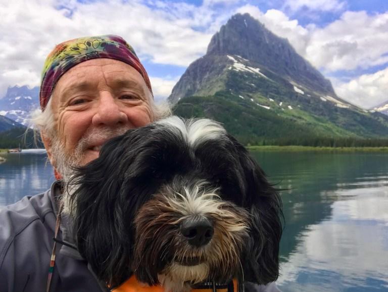 Eddie & Jake at Many Glaciers