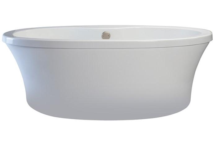MTI Basics MBOFSX6636 Basics Freestanding Soaking Tub