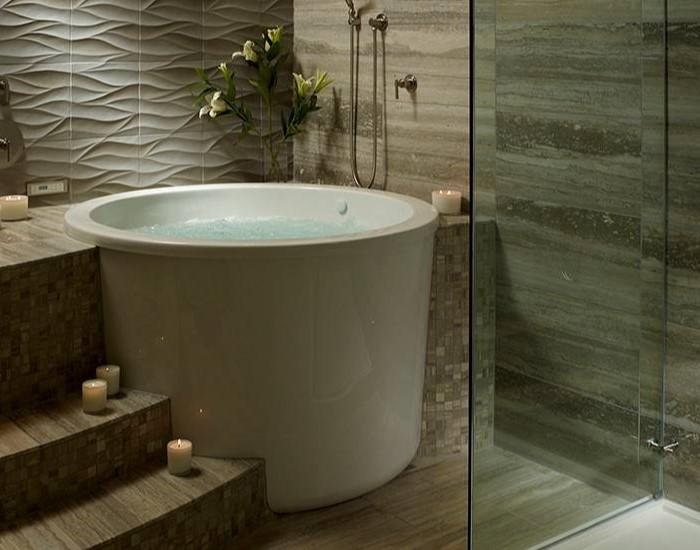 MTI Jasmine 3 Bathtub MTI Freestanding Air Tub Or Soaking