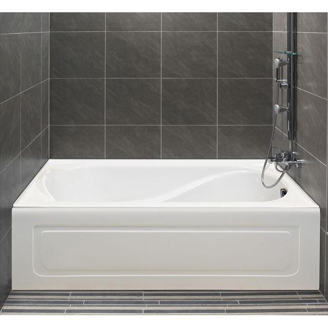 Alcove Petunia Bathtub Whirlpool Air Or Soaking