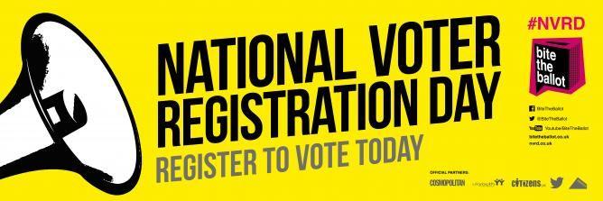 National Voter Registration Drive logo