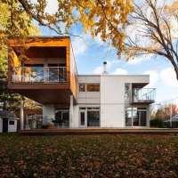 L-House, una casa prefabricada de 140m2 de espacio y comodidad