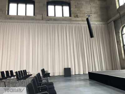 self propelled curtain drive t lok with
