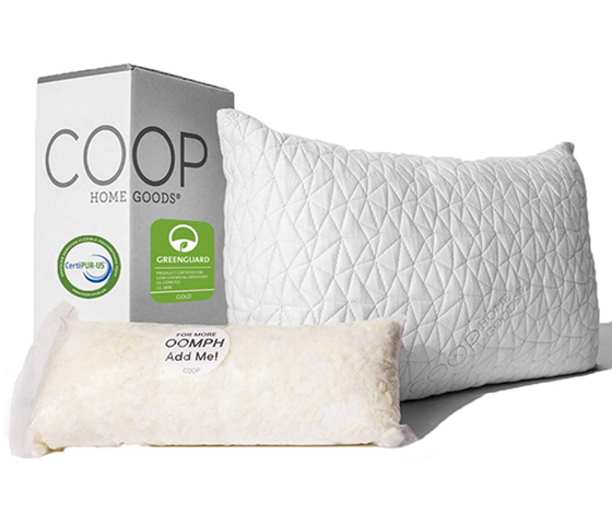 unbiased coop home goods pillow reviews