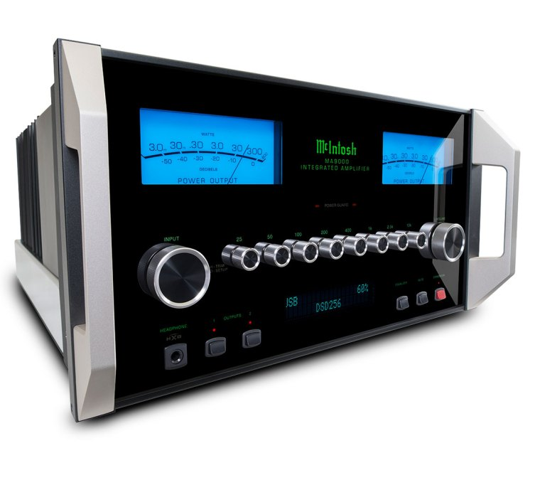 McIntosh Debuts Line of Integrated Amplifiers
