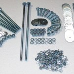 1955 1956 1957 1958 1959 Rear Fender Bolt Kit Zinc Chevy Gmc Truck Auto Parts And Vehicles Car Truck Parts