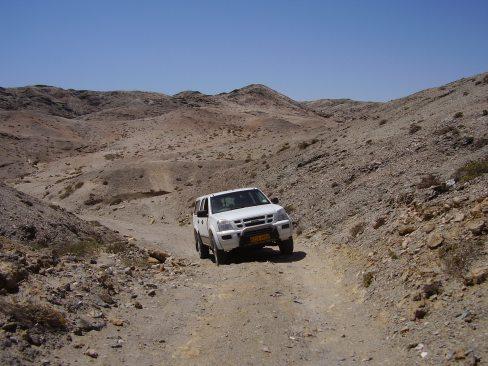 Isuzu Trooper, Namibia 2007