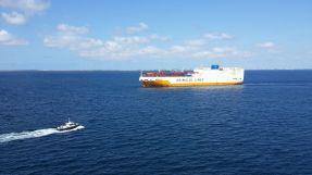 sailing out of Dakar