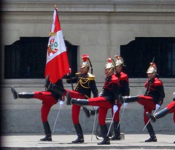 Lima changing the guards