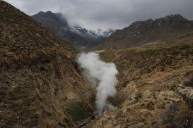 Colca Canyon geysers peru