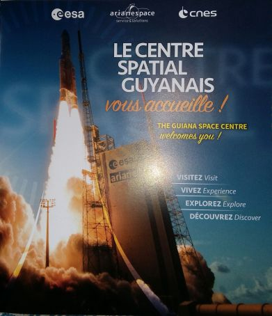 Kourou ESA Launch Invitation