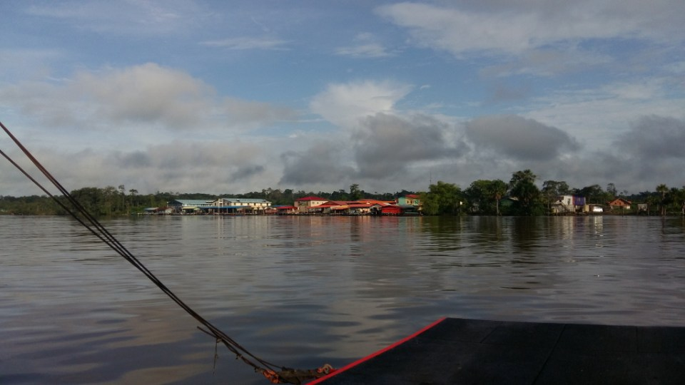 Arrival Suriname from French Guiana