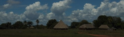 Rupununi village