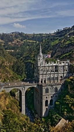 Colombia travel blog - Las Lajas