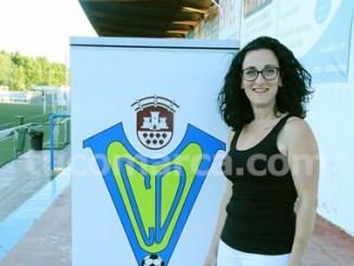 La nueva presidenta del CD Cheste, Consu Sáez.