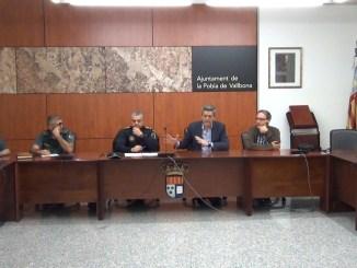 El Ayuntamiento de La Pobla de Vallbona ha reunido a los agricultores del municipio.