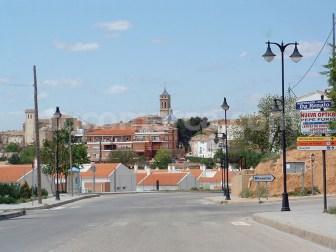 Una imagen de la entrada a la localidad de Requena.