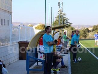 El banquillo del Atlético Macastre en una imagen de archivo. Foto: Raúl Miralles Lacalle.