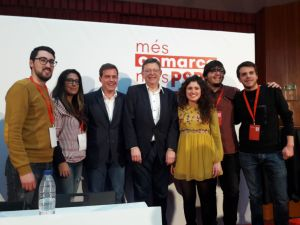 Ximo Puig ha felicitado a la nueva ejecutiva y secretario general Roger Cerdà.