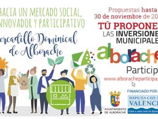 El Ayuntamiento de Alborache estrena sus presupuestos participativos.