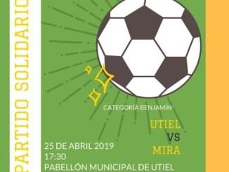 Mañana Utiel acoge el II Encuentro solidario de fútbol sala a beneficio de ACATUR.