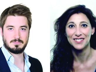 Rafael Pérez (EU) y Mati Mas (Podemos).