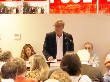 La candidatura vuelve a estar encabezada por el actual alcalde del municipio, Fernando Navarro.