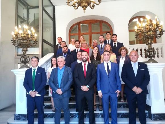 Corporación municipal 2019-2023 del Ayuntamiento de Requena.