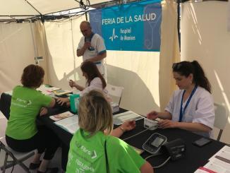 El Departamento de Salud de Manises ha participado en la XIX Feria del Comercio de Riba-roja del Túria.