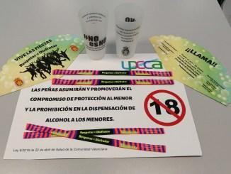 La Concejalía de Igualdad ha editado material de difusión con este lema para prevenir cualquier tipo de violencia o agresión, especialmente durante la celebración de la Feria y Fiestas.