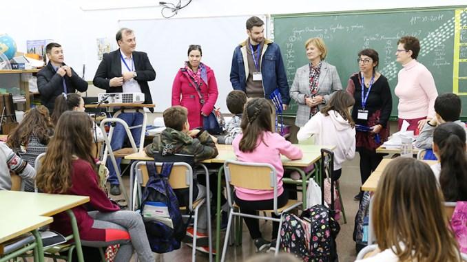 """Cheste recibe a representantes de seis delegaciones europeas participantes en el proyecto europeo """"Old Towns, new results""""."""