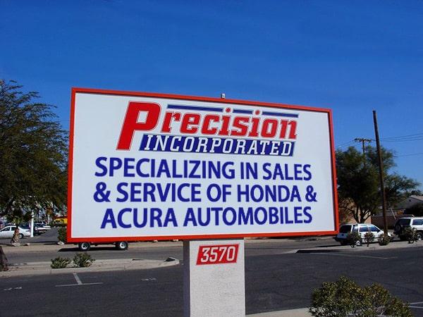Honda Repair In Tucson Az Precision Inc Honda Acura Automobile