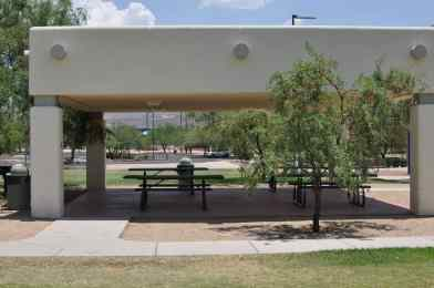 There are 2 picnic ramadas at Canada Del Oro Riverfront Park