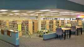 inside Kirk-Bear Canyon Library