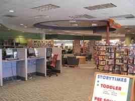 public computers at Kirk-Bear Canyon Library