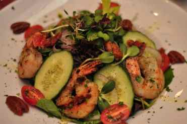 Shrimp at GOLD Restaurant