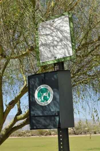 Case Park pet waste disposal