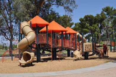 Gene C Reid Park playground off 22nd street