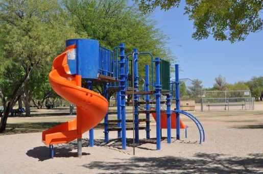 Purple Heart Park east playground