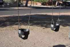 Wilshire Park baby swings