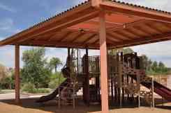 covered playground at Catalina Park